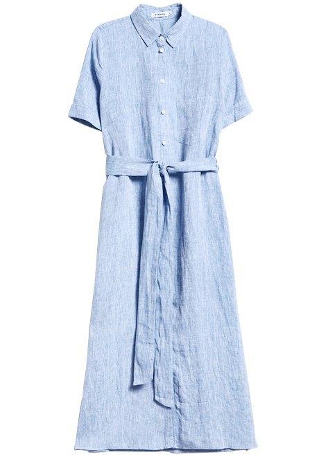 Надел и пошёл: 10 платьев-рубашек от простых до роскошных. Изображение № 10.