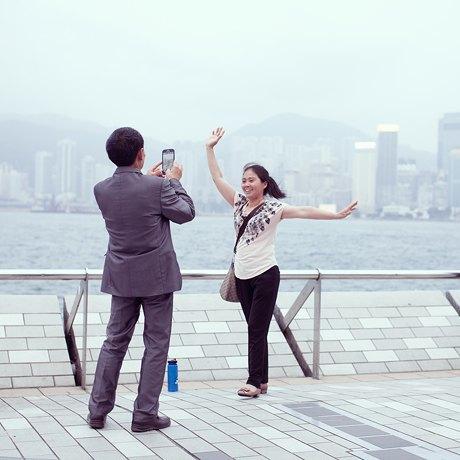 «Self Promenade»: Любители селфи в Гонконге. Изображение № 12.