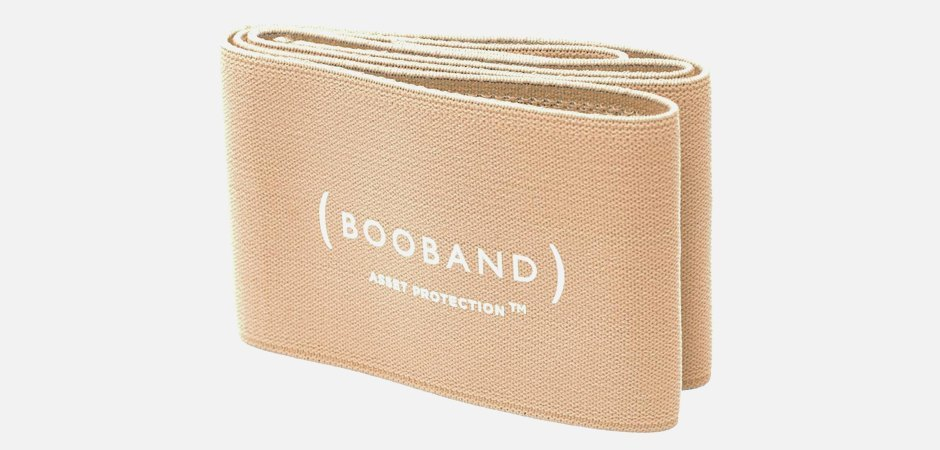 Лента Booband для поддержки груди на тренировках. Изображение № 1.