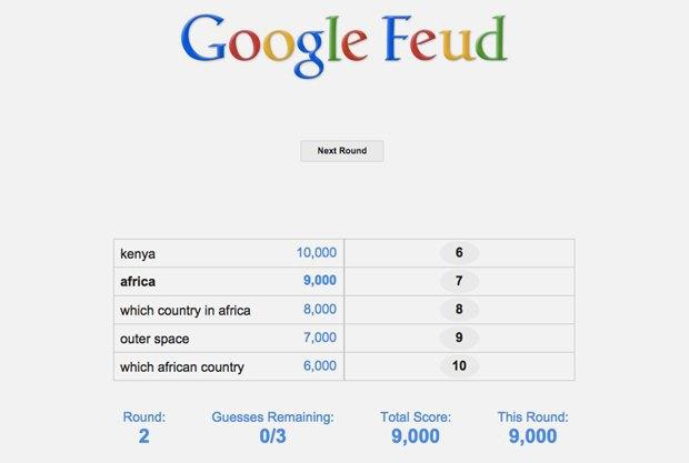 «Google Feud»: викторина  по популярным поисковым запросам. Изображение № 13.
