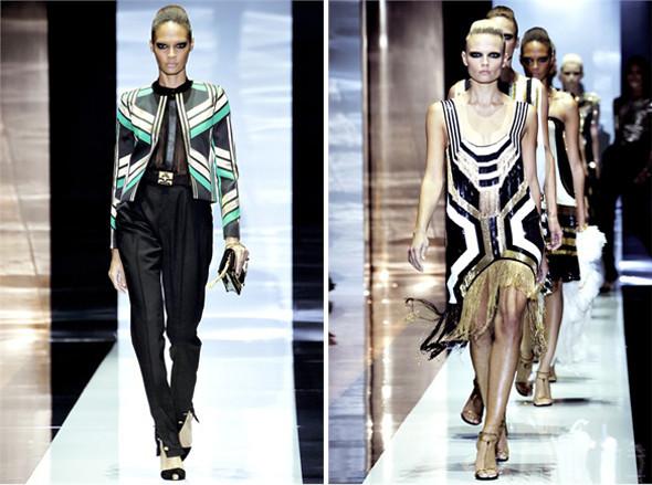 Показы на Milan Fashion Week SS 2012: День 1. Изображение № 6.