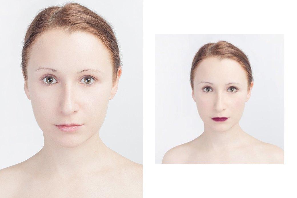 До и после макияжа:  Редакция тестирует  бьюти-приложения. Изображение № 26.