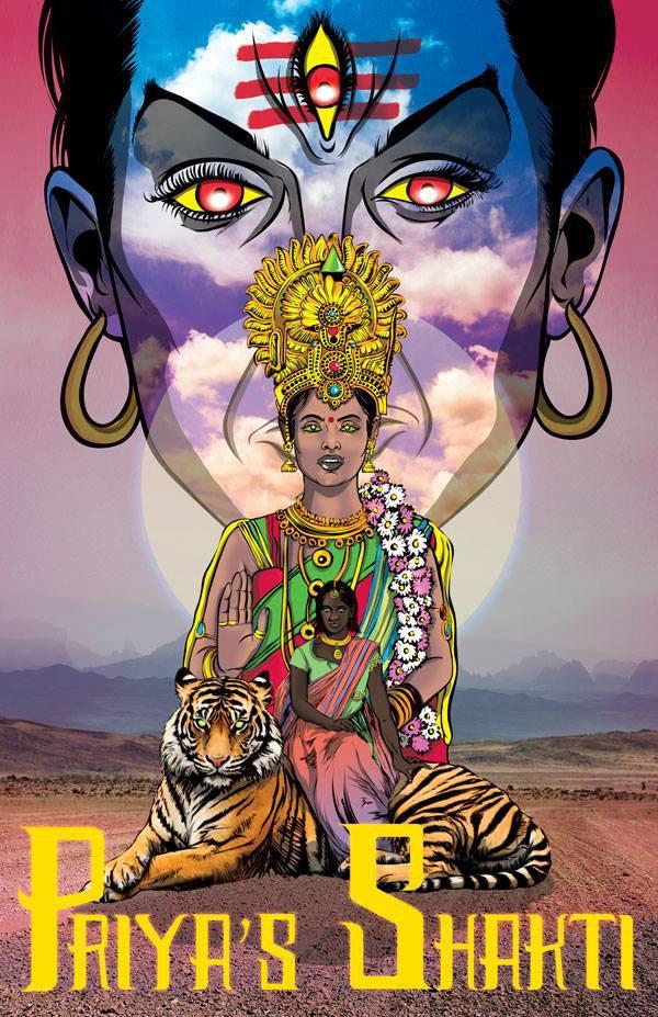 Проблему насилия в Индии помогут решить женщина, богиня и тигр. Изображение № 1.