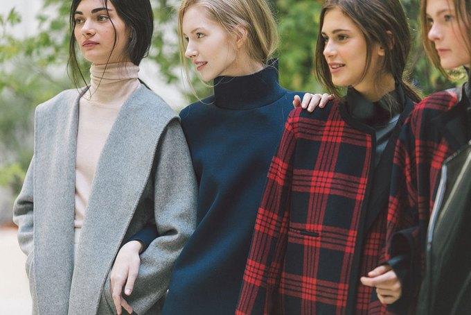 Объемные пальто и клетка в осеннем лукбуке Zara. Изображение № 25.