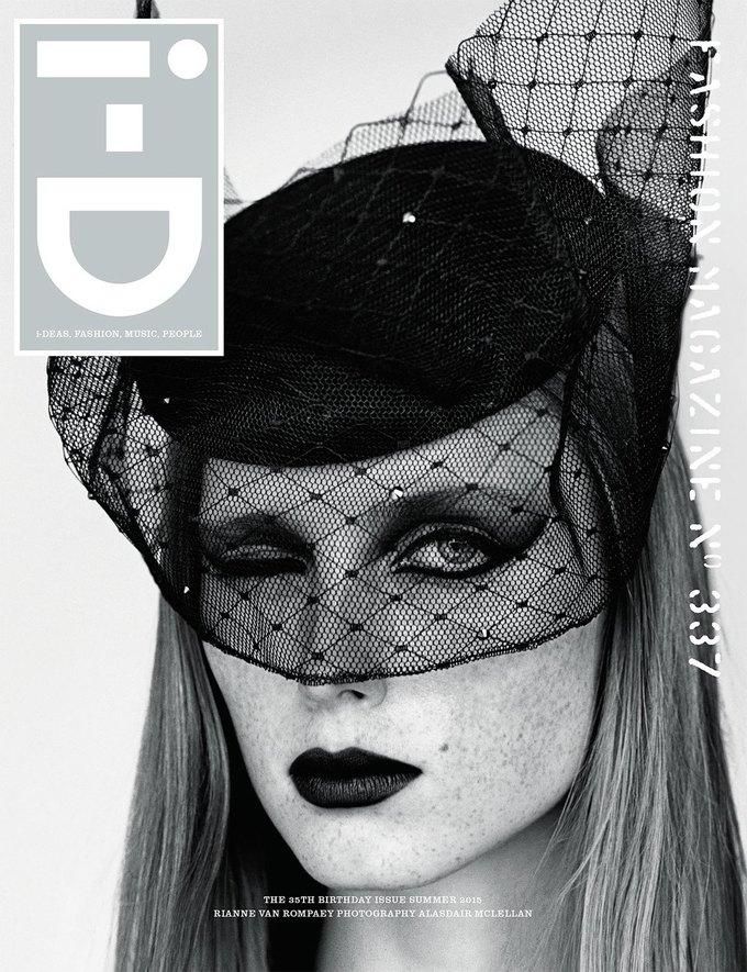 Журнал i-D отметил  35-летие восемнадцатью обложками с моделями. Изображение № 16.