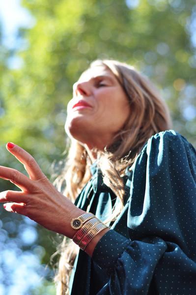 Анна Делло Руссо, Брайан Бой и другие перед показом Gucci SS 2012. Изображение № 4.