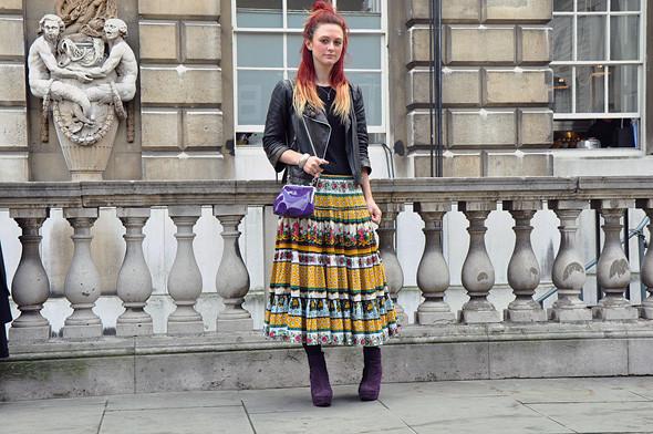 London Fashion Week: Уличный стиль, часть 3. Изображение № 25.