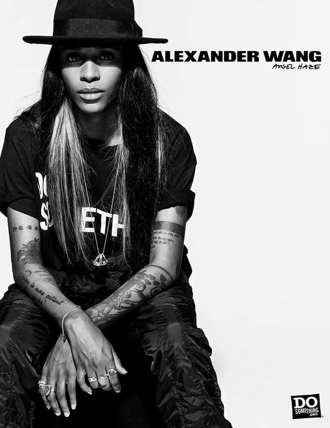В новой рекламной кампании Alexander Wang снялись 37 звезд. Изображение № 4.