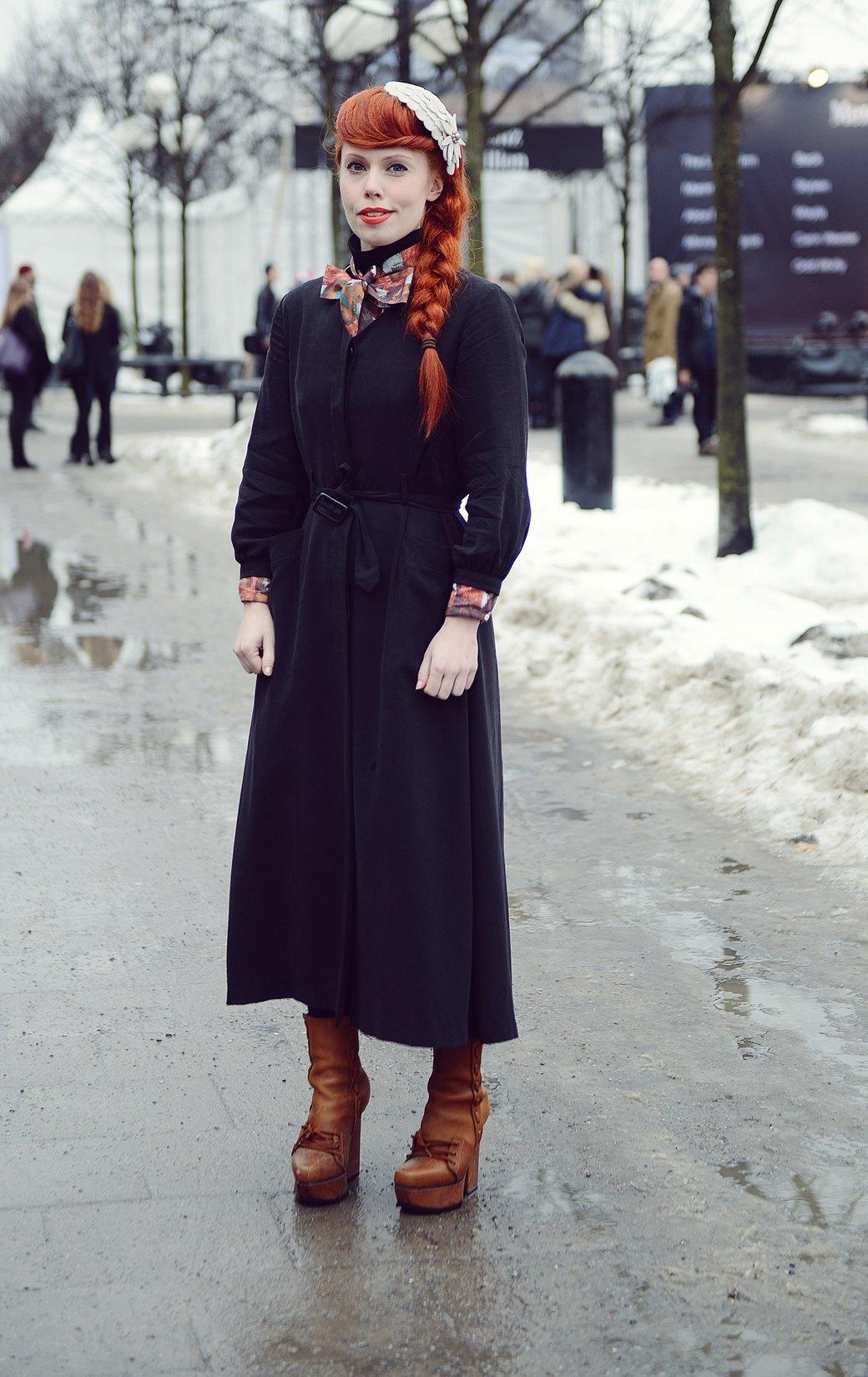 Шубы и горох на Stockholm Fashion Week. Изображение № 14.
