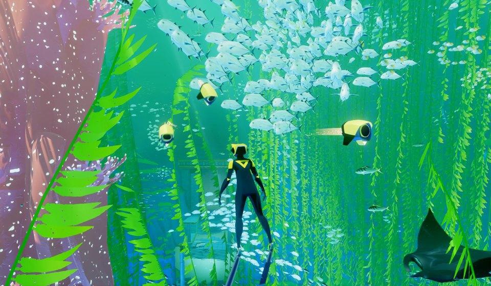 Видеоигра ABZÛ: Медитативное путешествие в глубины океана. Изображение № 6.