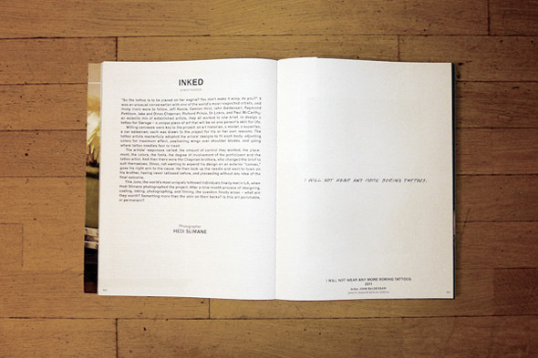 Проект «Inked», фотограф Эди Слиман. Изображение № 10.