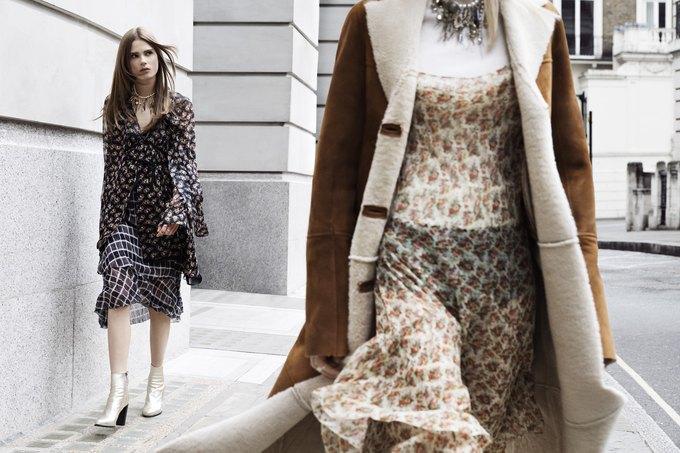 Модели на улицах Лондона в новой кампании Zara. Изображение № 9.