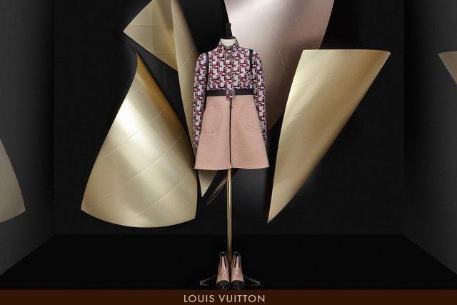 Знаменитый архитектор Фрэнк Гери оформит витрины Louis Vuitton. Изображение № 1.