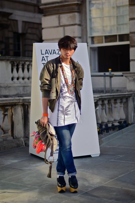 London Fashion Week: Уличный стиль, часть 1. Изображение № 3.