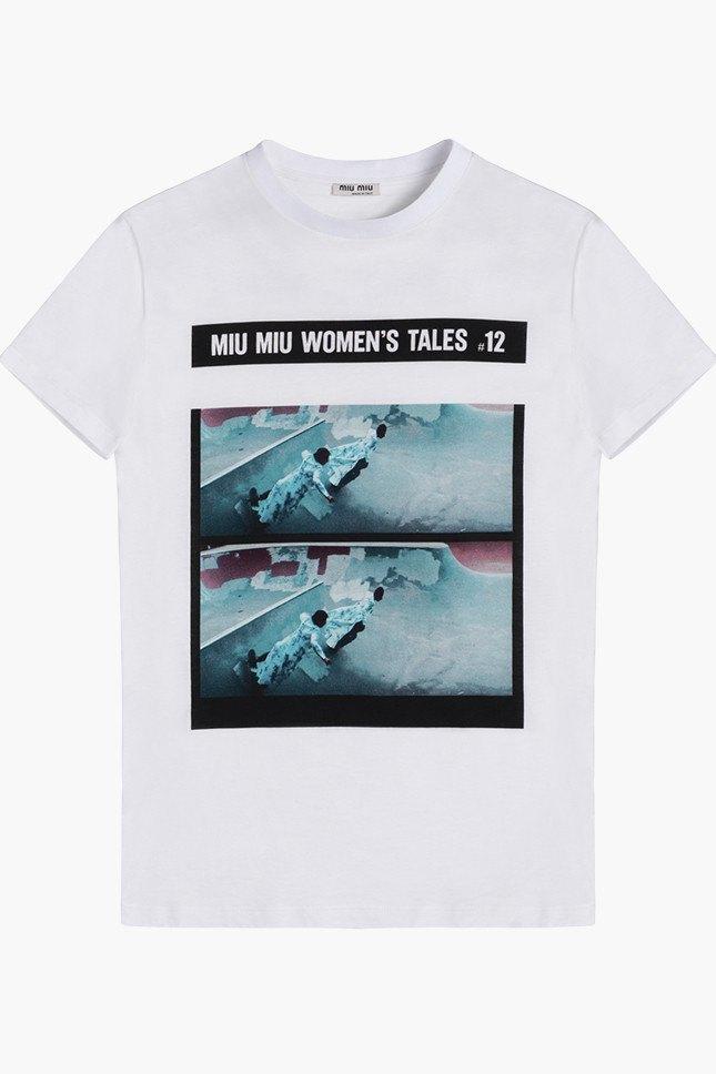 Miu Miu посвятили коллекцию футболок современным женщинам. Изображение № 13.