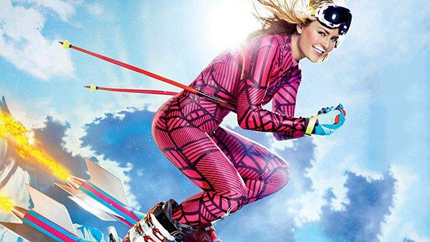 Горнолыжница Линдси Вонн в рекламной кампании Got Milk. Изображение № 2.