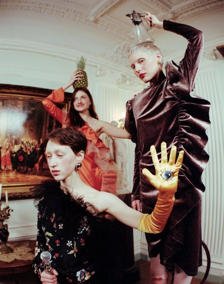 Съёмка Юлдус Бахтиозиной для Naya Rea по мотивам пьесы «Три сестры». Изображение № 5.
