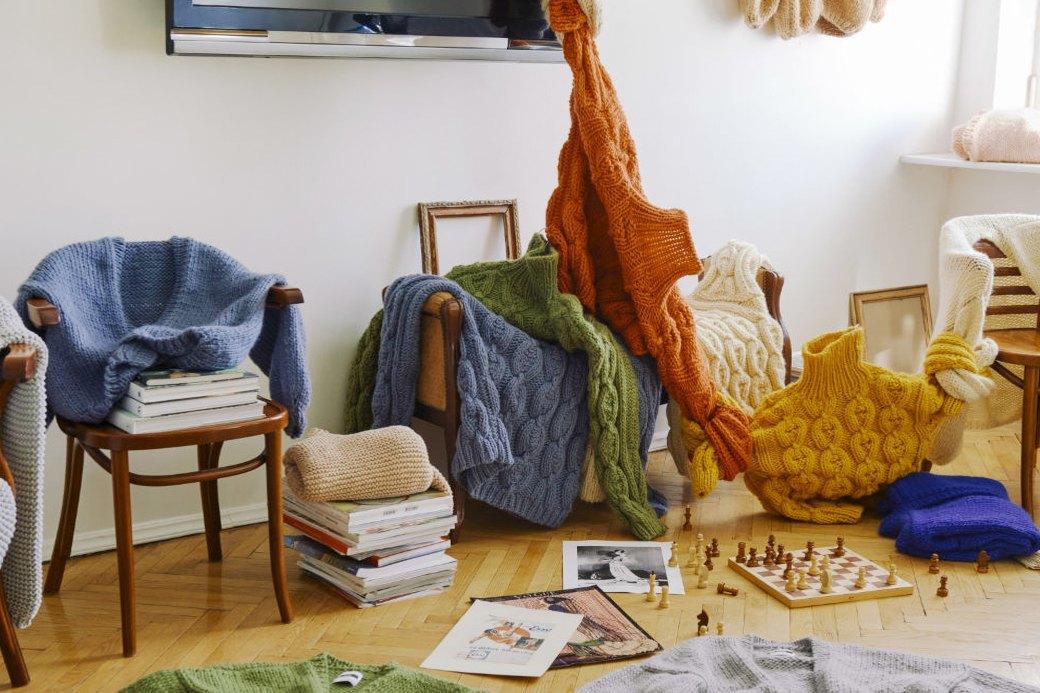 MIR Stores:  Объемные свитера  и кардиганы из Москвы. Изображение № 2.