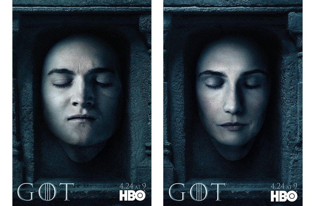 Постеры с героями «Игры престолов» к новому сезону. Изображение № 10.