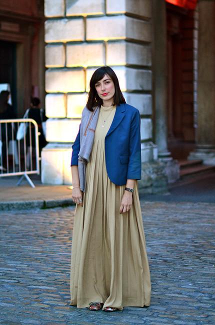 London Fashion Week: Уличный стиль, часть 1. Изображение № 1.