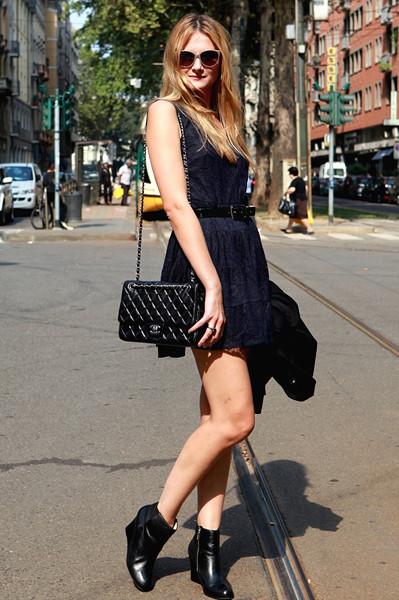 Milan Fashion Week: Уличный стиль, день 5. Изображение № 5.