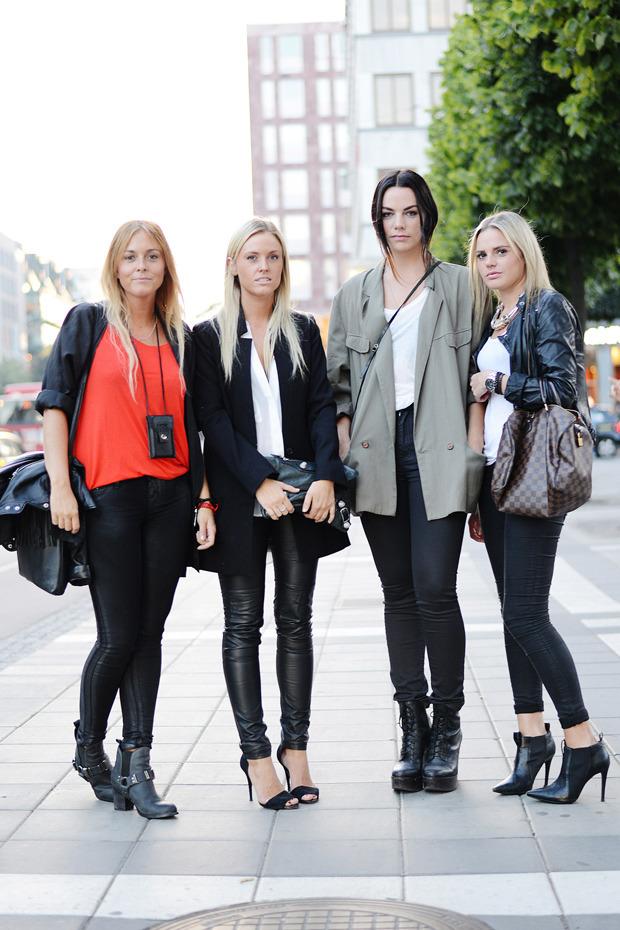 Парни в криперах и девушки в шортах на Неделе моды в Стокгольме . Изображение № 27.