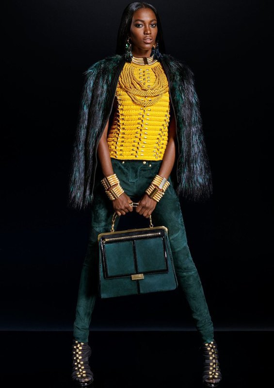 Опубликован полный лукбук коллекции H&M  и Balmain. Изображение № 11.