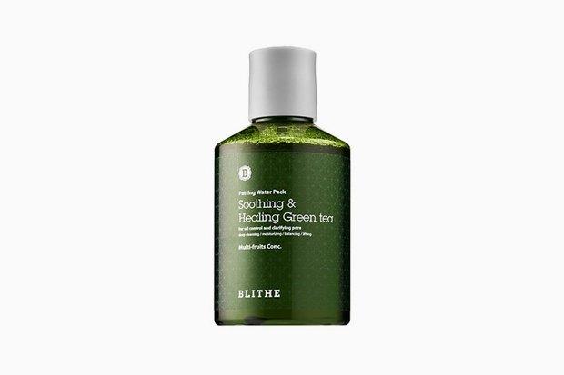 Splash-маска для очищения кожи от ороговевших клеток и нормализации выработки себума Blithe Soothing & Healing Green Tea. Изображение № 4.