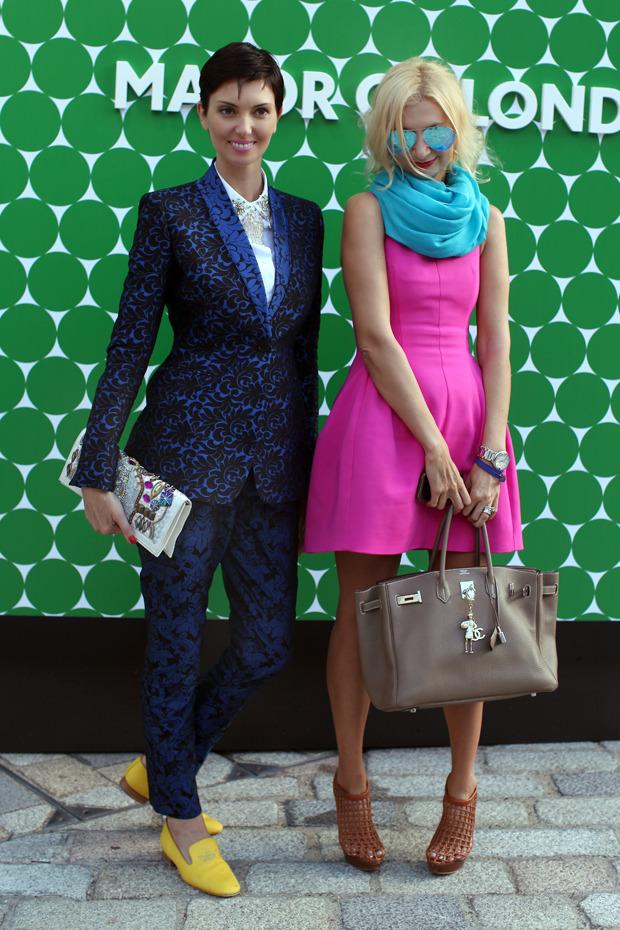 Streetstyle: Неделя моды в Лондоне, часть 1. Изображение № 54.
