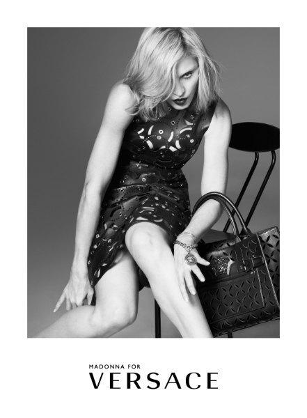 Мадонна стала лицом новой кампании Versace. Изображение № 1.