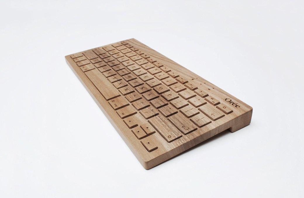 Деревянная клавиатура  Orée. Изображение № 1.
