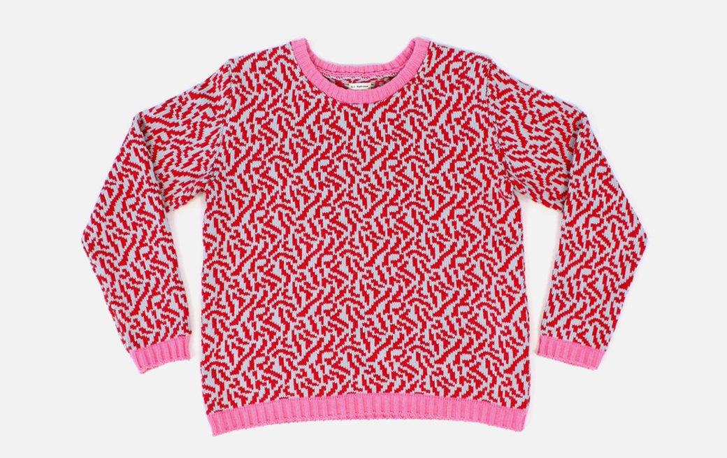 Теплые свитеры ALL Knitwear с геометричным узором. Изображение № 1.