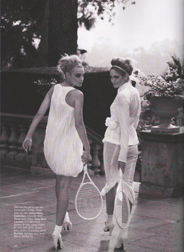 Съемка из американского Harper's Bazaar, апрель 2010. Изображение № 44.