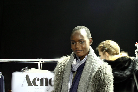 London Fashion Week: бэкстейдж показа Acne. Изображение № 8.