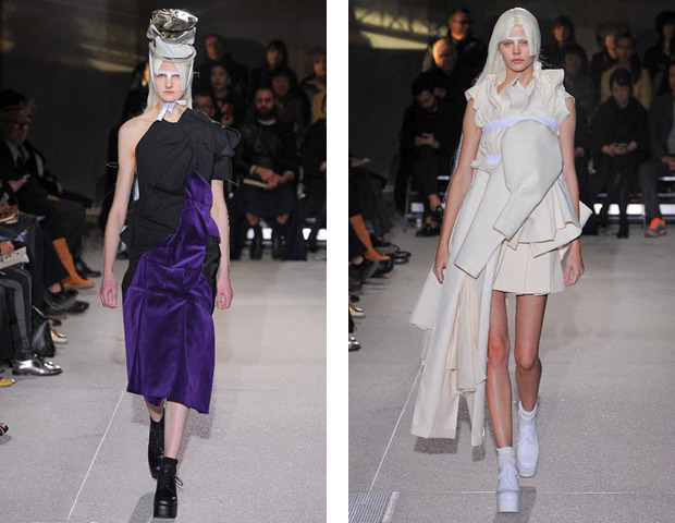 Парижская неделя моды: показы Haider Ackermann, Viktor&Rolf, Vivienne Westwood, Junya Watanabe и CDG. Изображение № 33.
