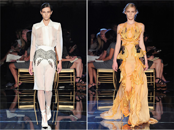 Показы на Milan Fashion Week SS 2012: День 1. Изображение № 14.