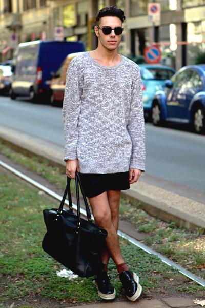 Milan Fashion Week: Уличный стиль, день 2. Изображение № 8.