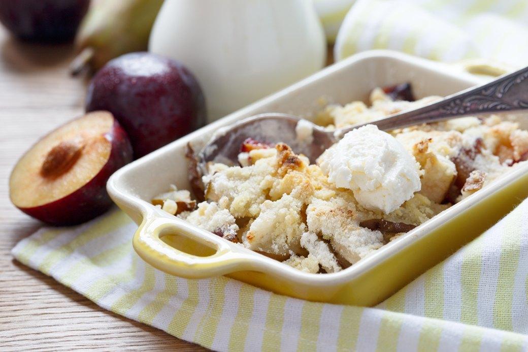 Быстрые ягодные  и фруктовые десерты: 10 рецептов. Изображение № 6.