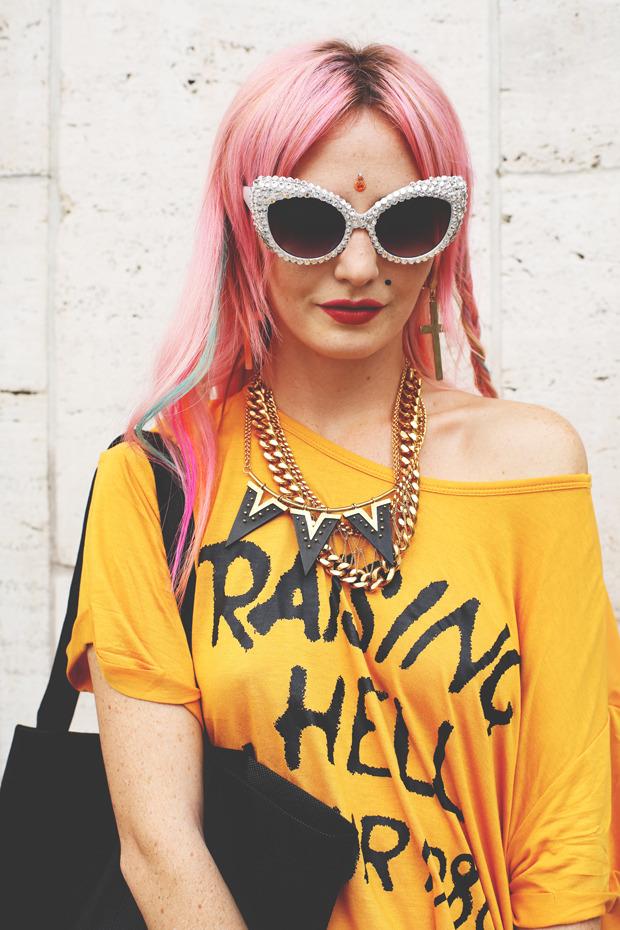 Других посмотреть и себя показать: Неделя моды в Нью-Йорке. Изображение № 9.