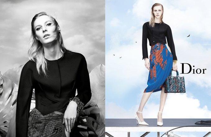 Стелла Теннант в весенне-летней кампании Dior. Изображение № 2.