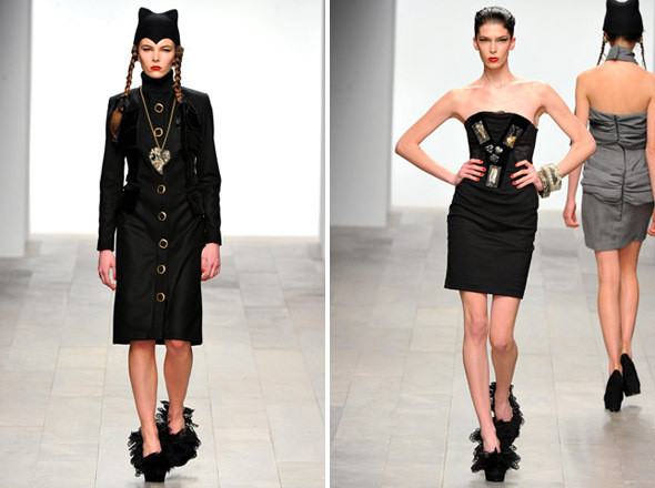 Изображение 2. Показы на London Fashion Week AW 2011: день 1.. Изображение № 18.