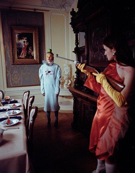 Съёмка Юлдус Бахтиозиной для Naya Rea по мотивам пьесы «Три сестры». Изображение № 10.