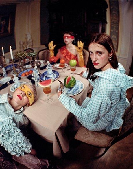Съёмка Юлдус Бахтиозиной для Naya Rea по мотивам пьесы «Три сестры». Изображение № 3.