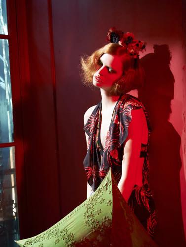 Фантастическая миссис Фокс: 8 моделей с рыжими волосами. Изображение № 48.