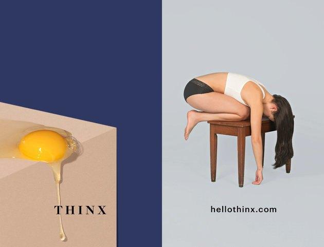Метро Нью-Йорка смутила реклама белья  для менструации. Изображение № 3.