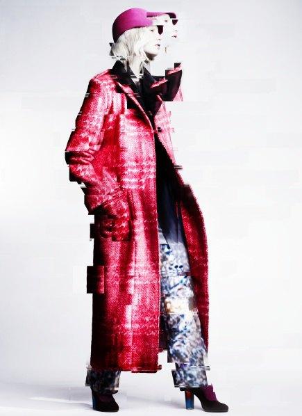 Пальто с графическими принтами в лукбуке Minimarket . Изображение № 1.
