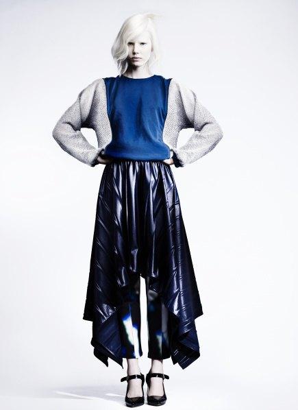 Пальто с графическими принтами в лукбуке Minimarket . Изображение № 7.