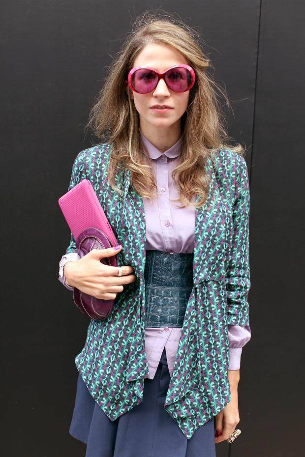 Streetstyle: Неделя моды в Лондоне, часть 1. Изображение № 38.