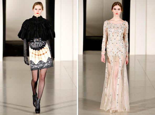 Показы на London Fashion Week AW 2011: день 3. Изображение № 18.
