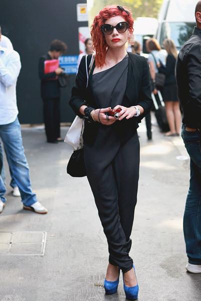 Milan Fashion Week: Уличный стиль, день 5. Изображение № 1.